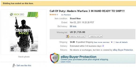 ebay_MW3_callofduty_sale