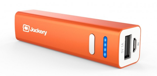 """Jackery® Mini Premium iPhone Charger 3200mAh Power Pack – 76% Off """"The world's smallest external battery charger"""""""